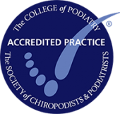 college podiatry logo