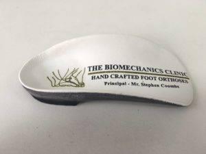 custom foot Sole by The Biomechanics Clinic